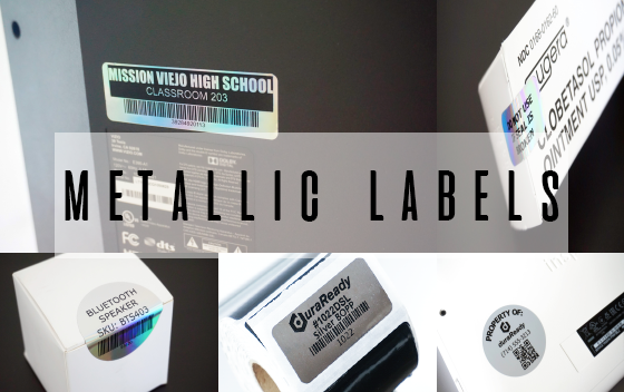 Metallic Labels