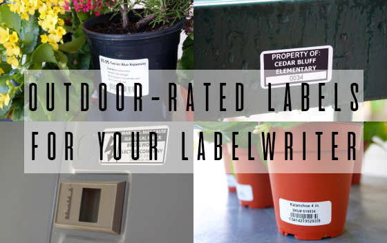 Outdoor-Rated Labels