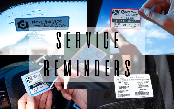 No-Fade Service Reminders for Dymo Labelwriters
