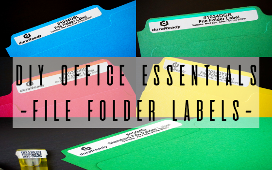 File Folder Labels