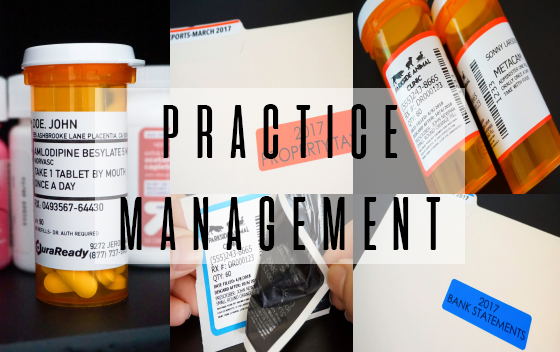 Practice Management (MD, DDS, DVM, OD)