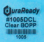 "Clear, 1 x 1"" #1005DCL, library labels, book labels, pricing and merchandising labels"