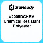 "Chemical resistant, 1 x 1"" white polyester label that is durable enough to withstand Ethanol, Xylene, Acetone, IPA, MEK, Thinner, Gasoline, Brake Fluid and many more organic solvents."