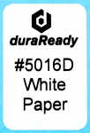 "Multipurpose, 1.0 x 1.5"" White paper label, perfect for bibliography, classification, and cataloging."