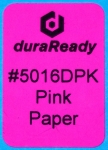 "Multipurpose, 1.0 x 1.5"" bright pink  paper label, perfect for bibliography, classification, and cataloging."